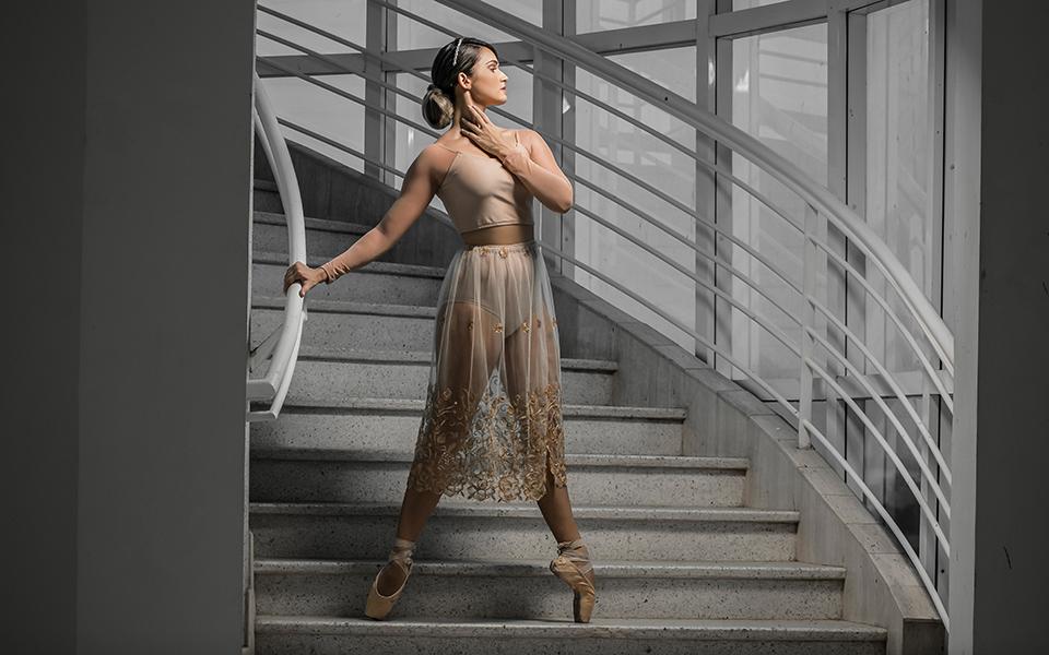 La bailarina zuliana, Vanessa Rubio está Frente a Cámara